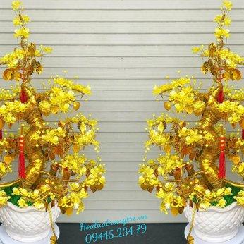 Hoa Pha Lê Mai Vàng