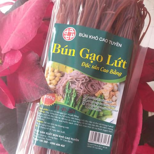 Bún Khô  Cao Bằng Gạo Lứt- 500 gram