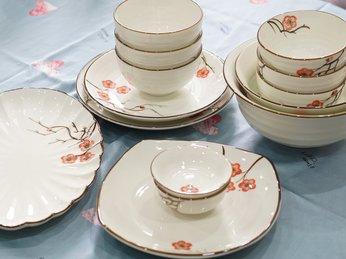 Mẹo chọn bộ bát đĩa phù hợp với không gian nhà bạn