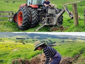 """Chưa một lần """"chân lấm tay bùn"""" cô gái bỏ phố theo chồng Tây làm farmer chính hiệu ở Úc"""