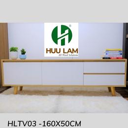 Kệ ti vi chân gỗ cho phòng khách đẹp HLTV03