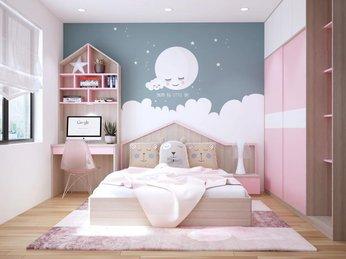 Những cách thiết kế phòng ngủ bé gái ấn tượng và nữ tính nhất