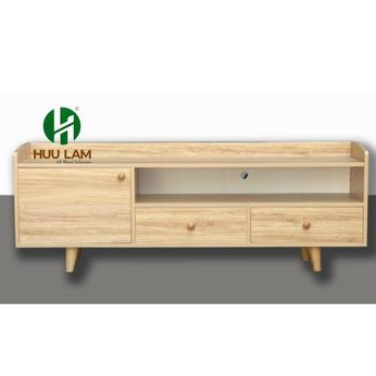 Kệ tivi gỗ công nghiệp kiểu dáng hiện đại vân gỗ HLTV-033