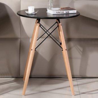 Bàn Trà chân gỗ kiểu dáng hiện đại - Nội thất Hữu Lâm