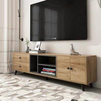Kệ tivi gỗ công nghiệp phong cách scandinavian HLTV-031