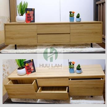 Kệ tivi bằng gỗ  cho phòng khách KTVHL011
