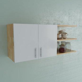 Tủ Bếp Gỗ Treo Tường 1m2 cho nhà bếp nhỏ