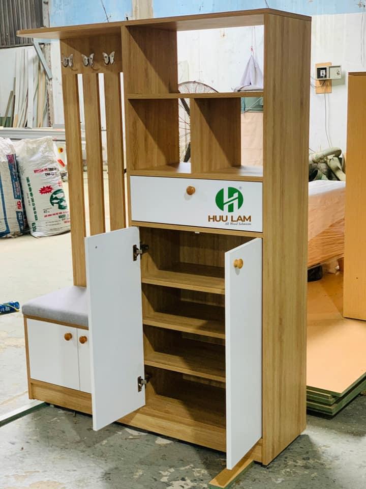 Tủ giày thiết kế đa năng cho gia đình HLTG-014
