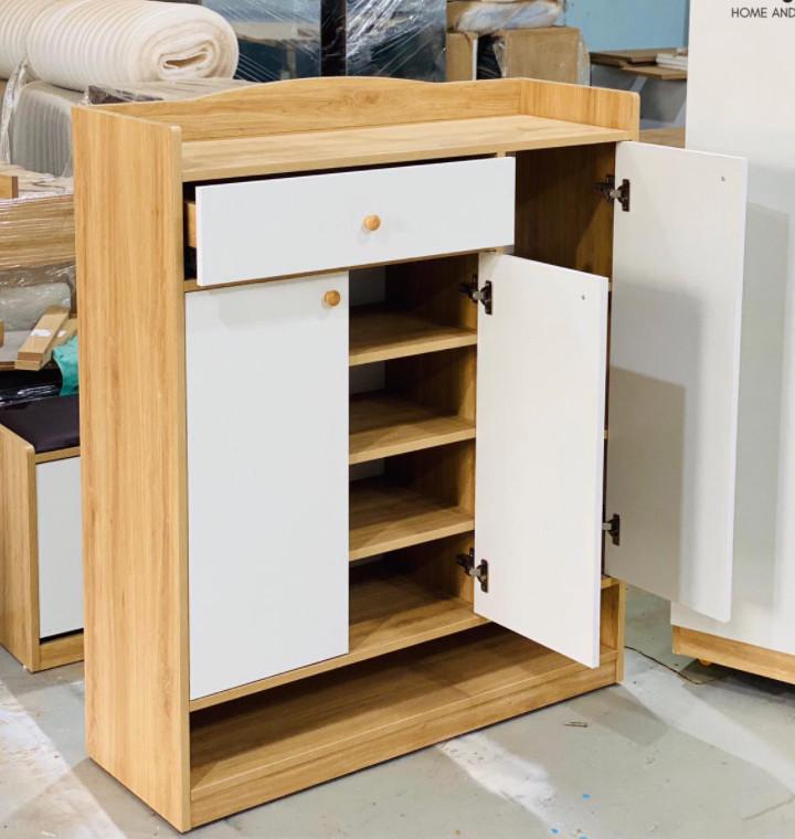 Tủ giày gỗ công nghiệp 100x120cm HLTG-013