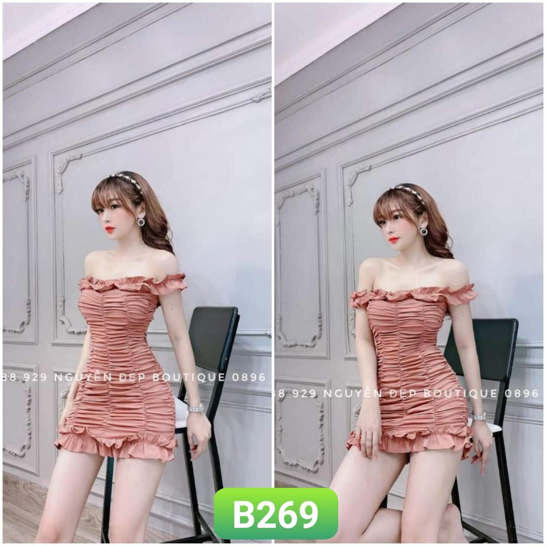 Order Váy Đầm B269 - Freesize 55kg