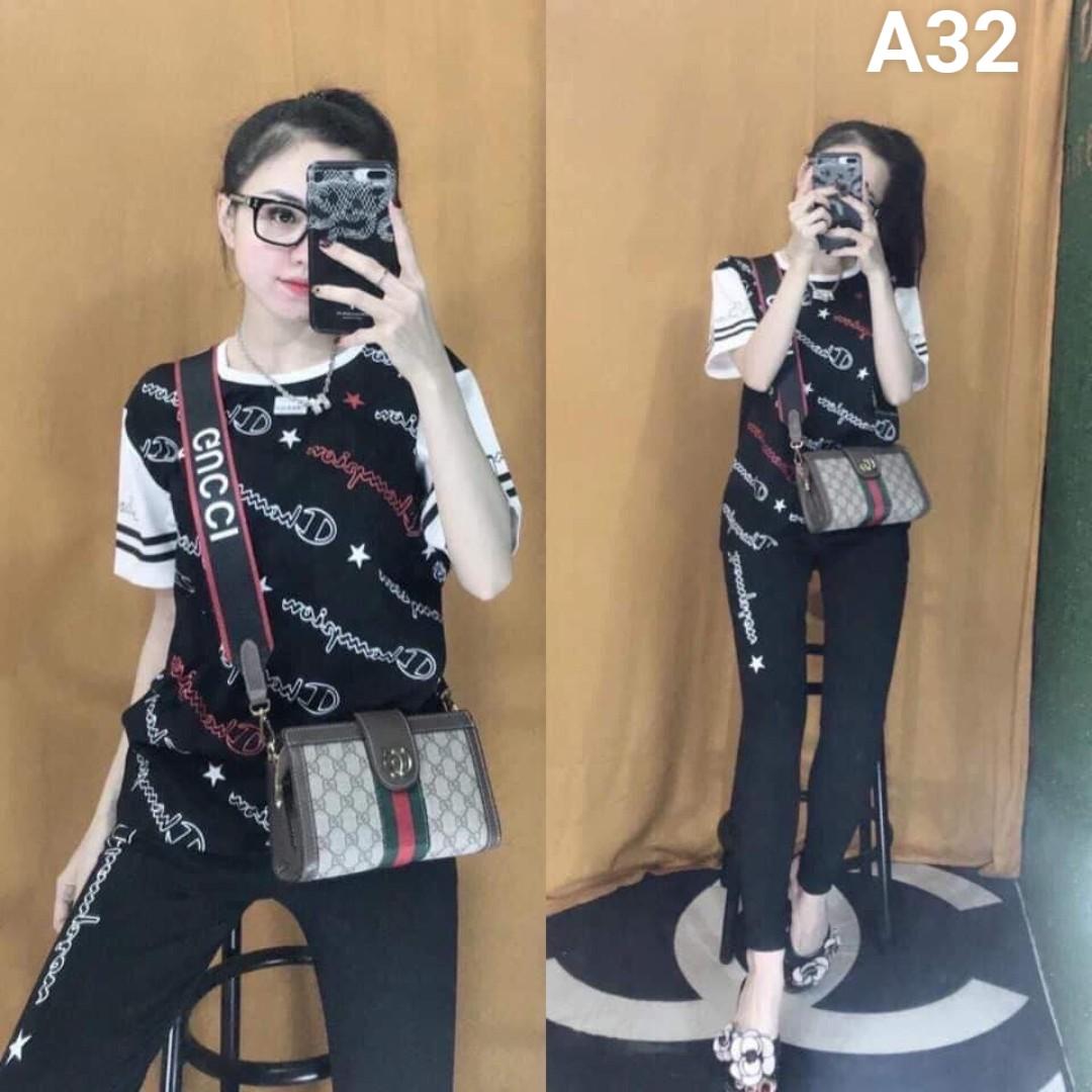 Đồ bộ nữ mặc nhà TNQD A32 - 4 size m xl xxl xxxl