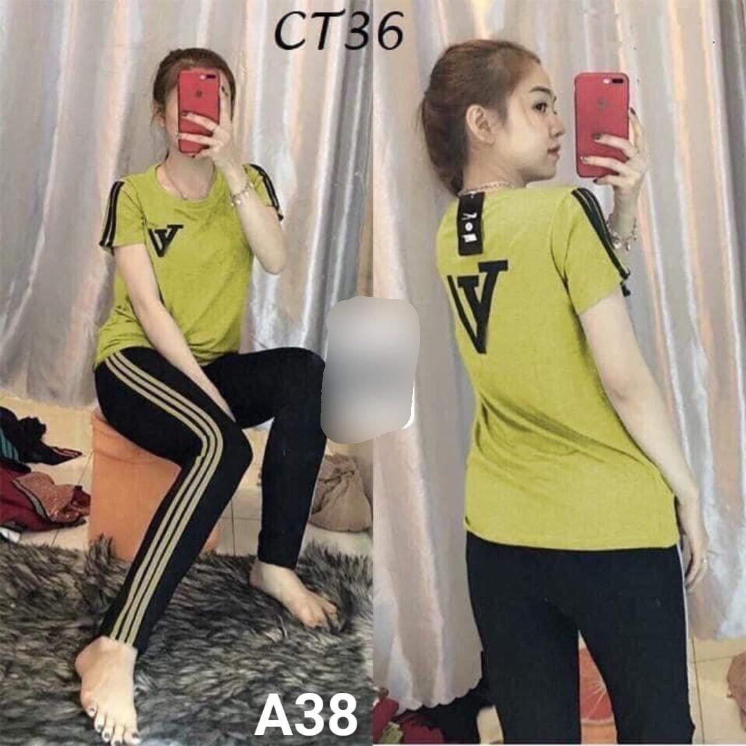 Đồ bộ nữ mặc nhà TNQD A38 - 4 size m xl xxl xxxl