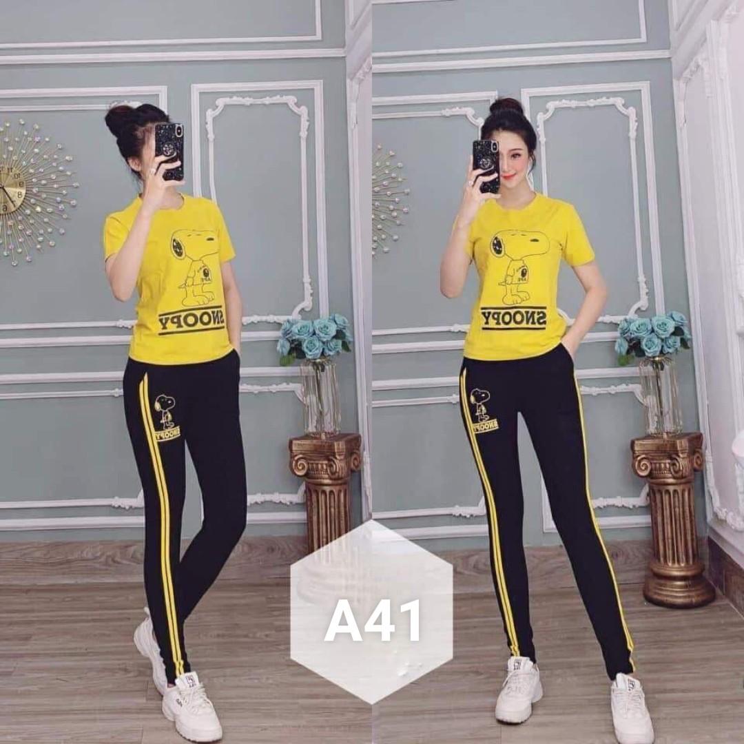 Đồ bộ nữ mặc nhà TNQD A41 - 4 size m xl xxl xxxl