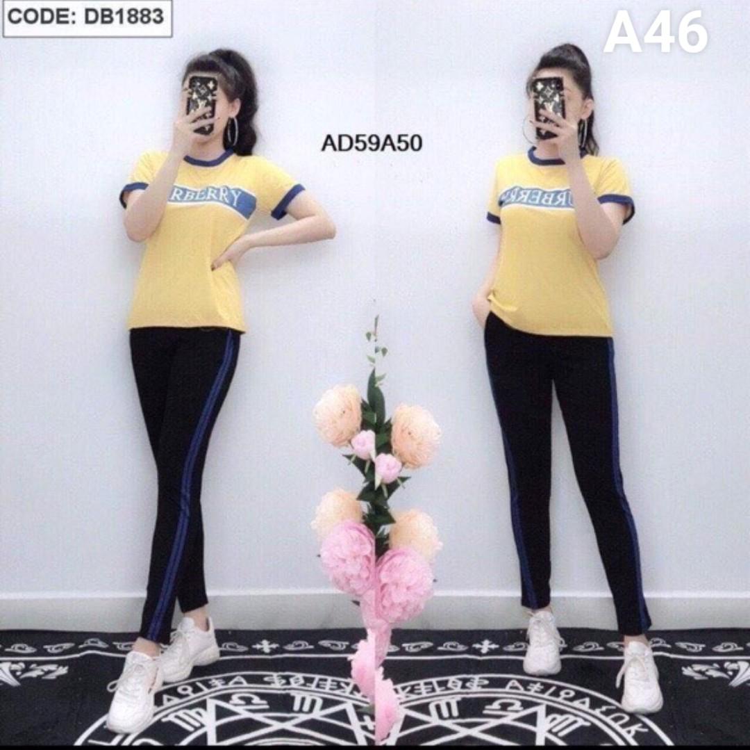 Đồ bộ nữ mặc nhà TNQD A46 - 4 size m xl xxl xxxl