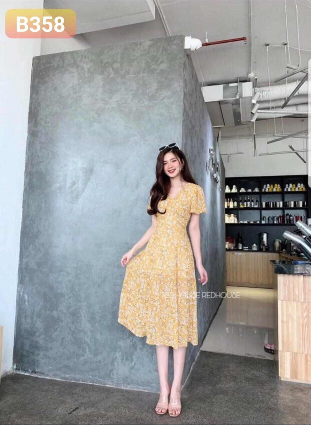 Order Váy Đầm B358 - Freesize 55kg