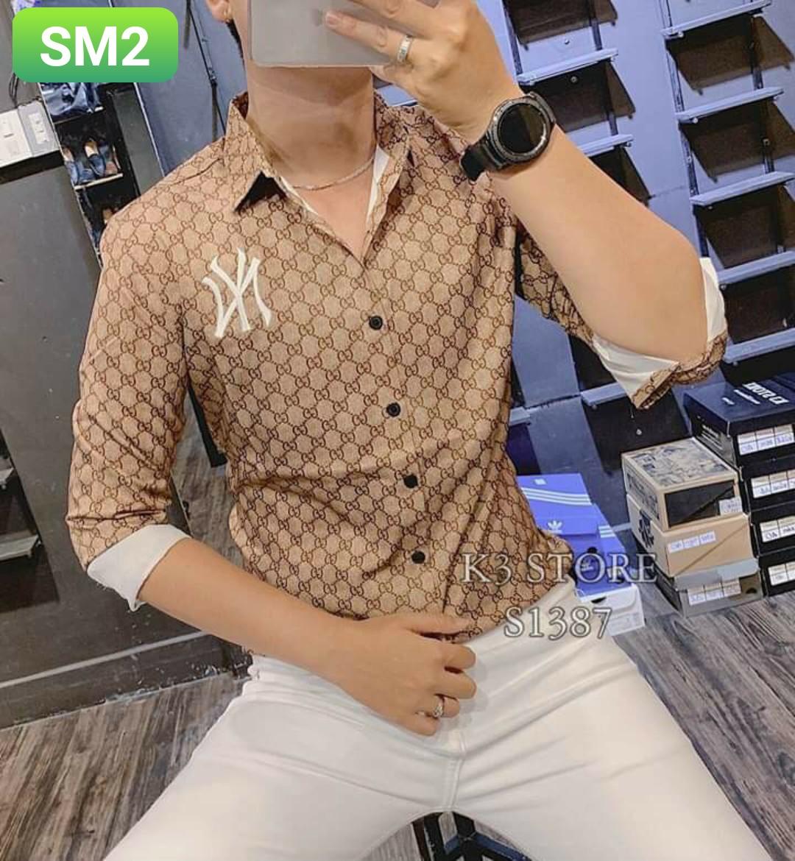 Order áo sơ mi SM2 - 3 size m l xl