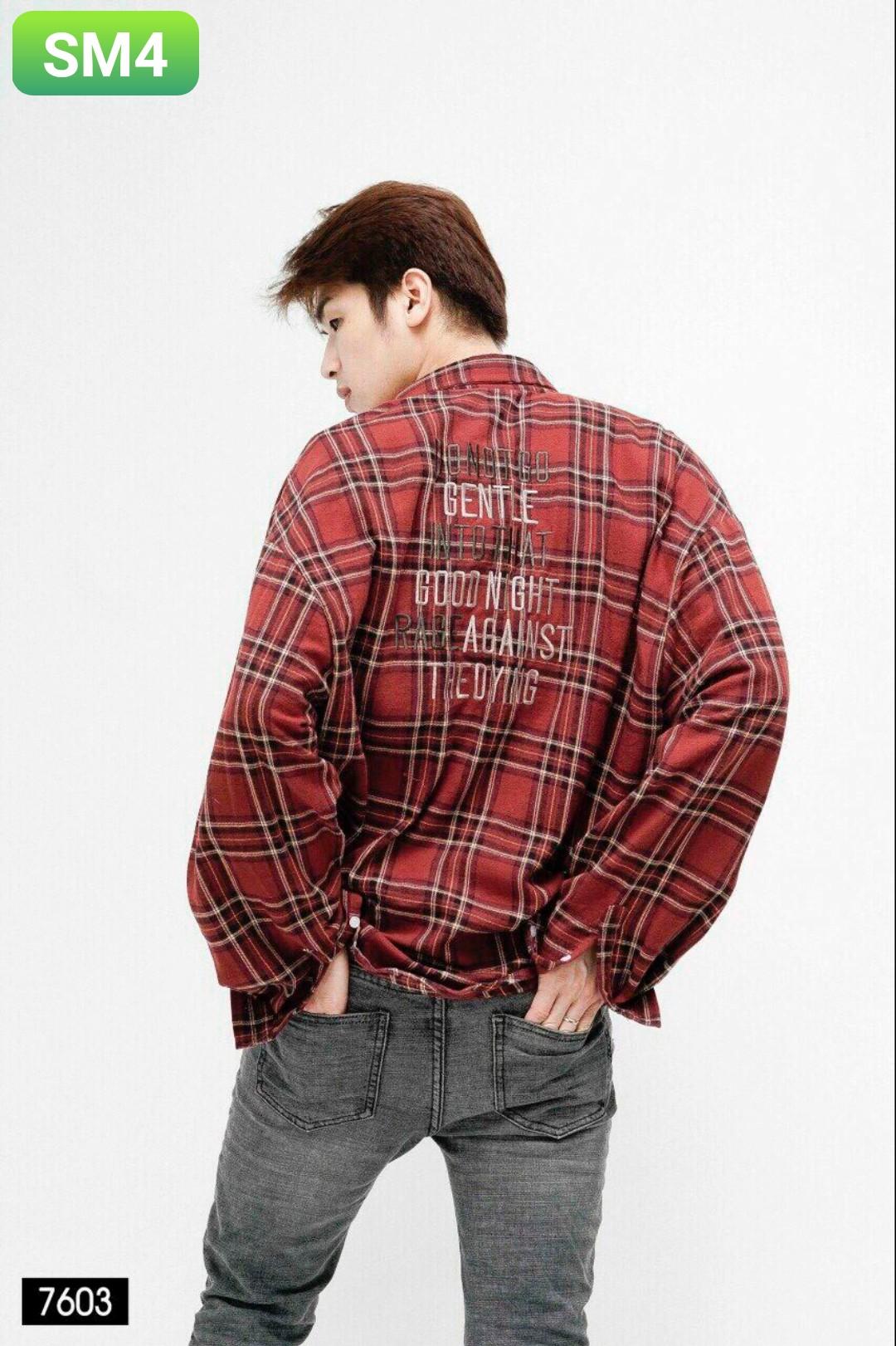 Order áo sơ mi SM4 - 3 size m l xl