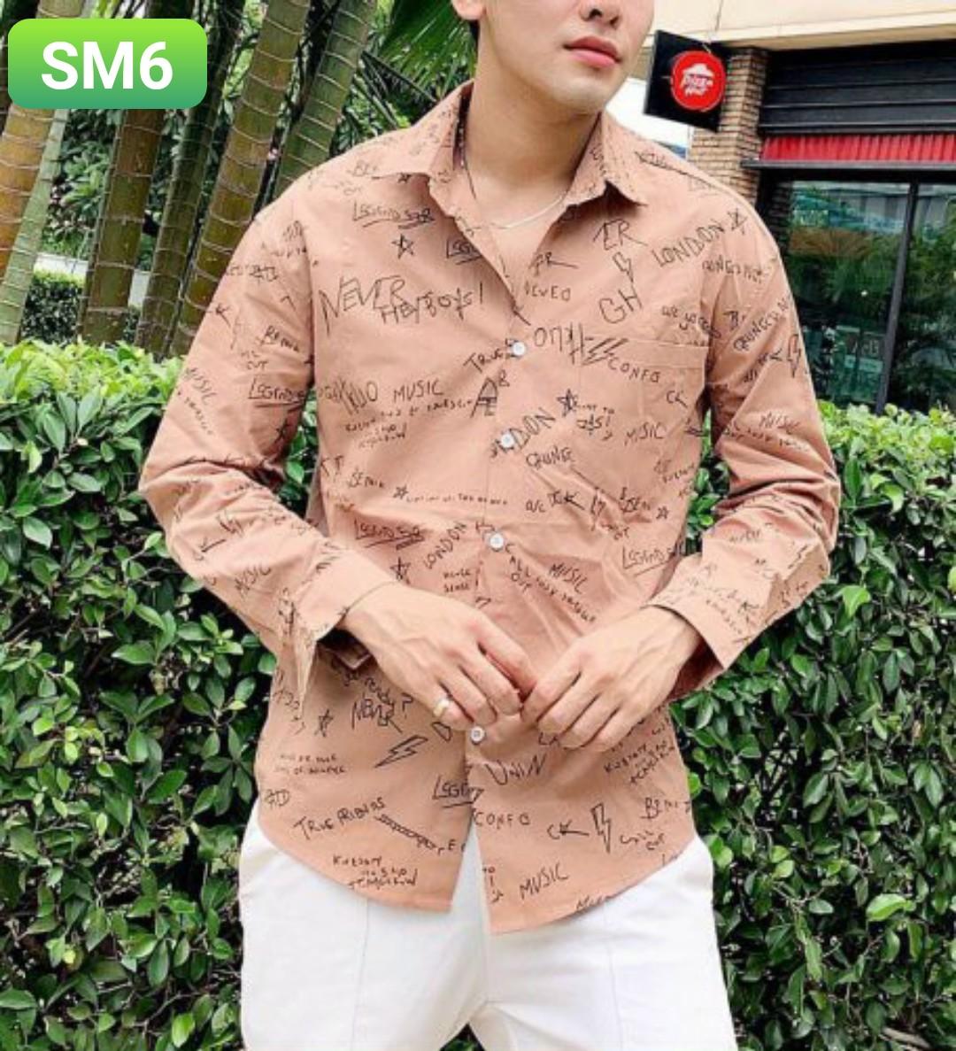 Order áo sơ mi SM6 - 3 size m l xl