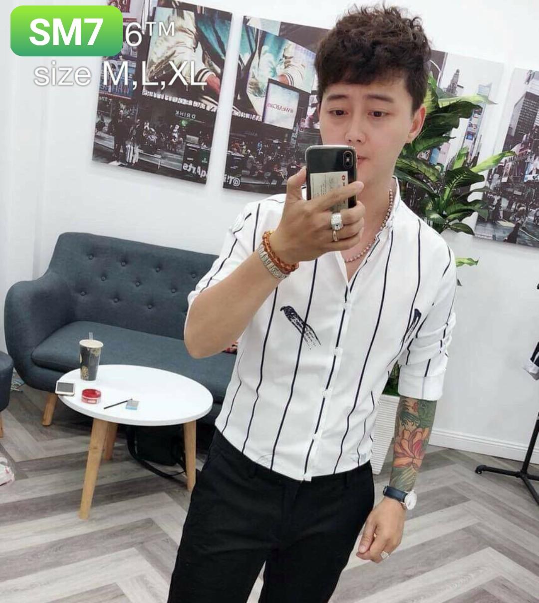 Order áo sơ mi SM7 - 3 size m l xl