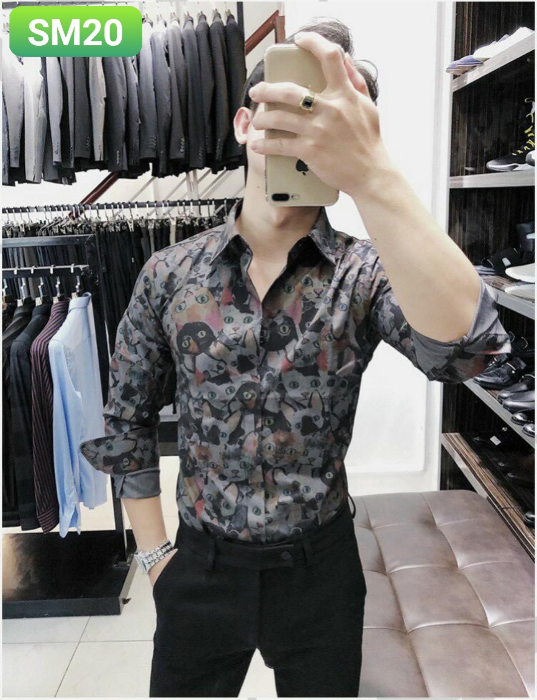Order áo sơ mi SM20 - 3 size m l xl