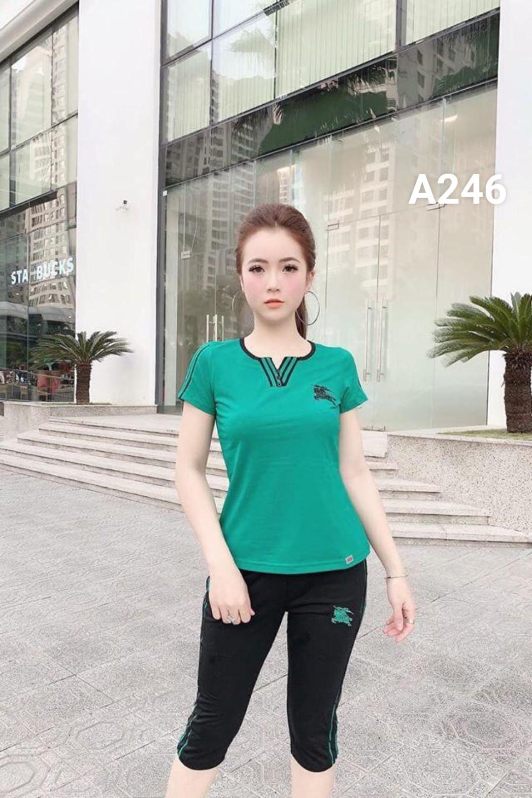 Đồ bộ nữ mặc nhà lững A246 - 4 size m xl xxl xxxl