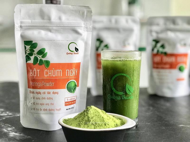 Bột Chùm Ngây Quảng ThanhGói 50g - 100% SẠCH, nguyên chất