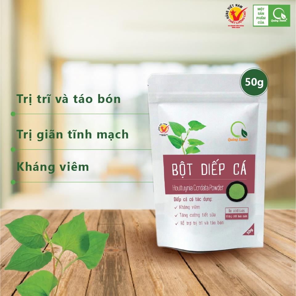 Bột Diếp Cá - Gói 50g - Quảng Thanh