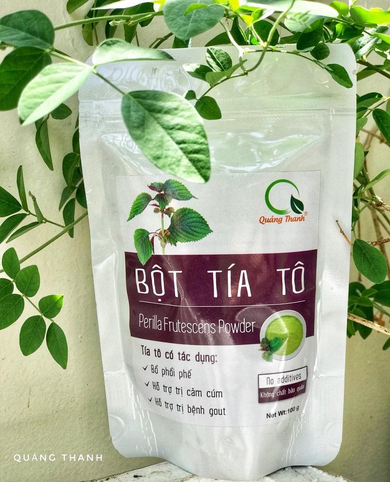 Bột Tía Tô - Gói 100gr - Quảng Thanh