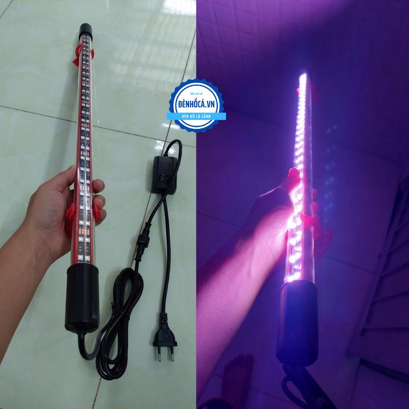 Đèn hồ cá 92cm chuyên dụng cho cá Huyết long - Huyết rồng đèn led RED -RGB