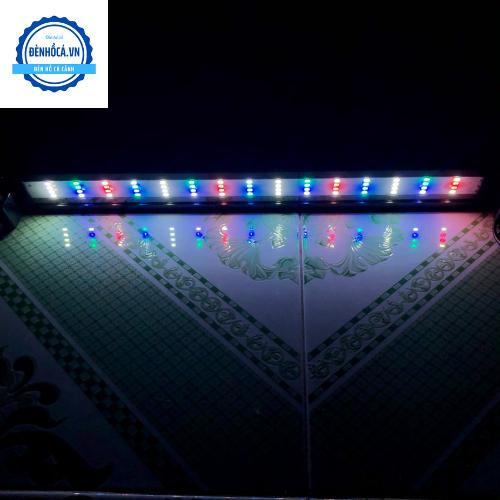 Đèn hồ cá 50 - 60cm RGB 3 chế độ sáng dành cho hồ cá cảnh 50 - 60cm