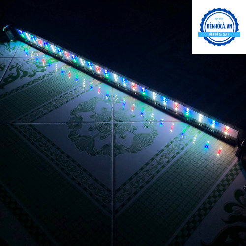 Đèn hồ cá 80 - 90cm RGB 3 chế độ sáng dành cho hồ cá cảnh 80 - 90cm