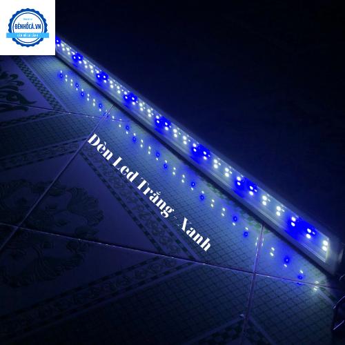 Đèn Led cao cấp dành cho hồ cá cảnh, hồ thủy sinh 80 đến 90cm loại 2 dãy LED