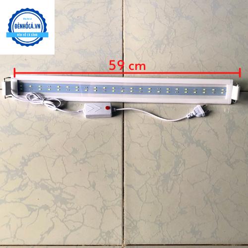 Đèn Led cao cấp dành cho hồ cá cảnh, hồ thủy sinh 60 đến 70cm loại 2 dãy LED