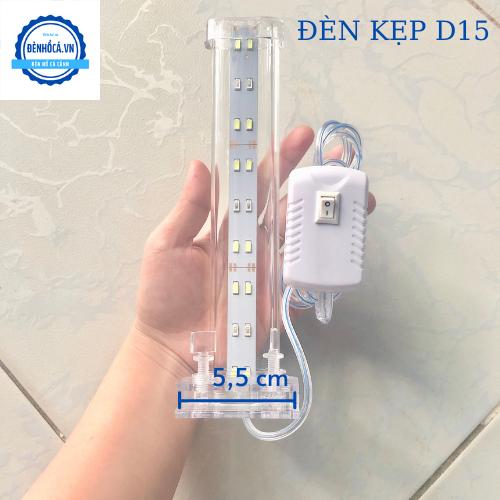 Đèn hồ cá 25 - 35cm loại kẹp dành cho hồ cá , hồ thủy sinh từ 25 - 35cm