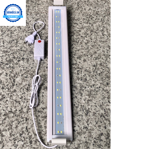 Đèn Led cao cấp dành cho hồ cá cảnh, hồ thủy sinh 50 đến 60cm loại 2 dãy LED