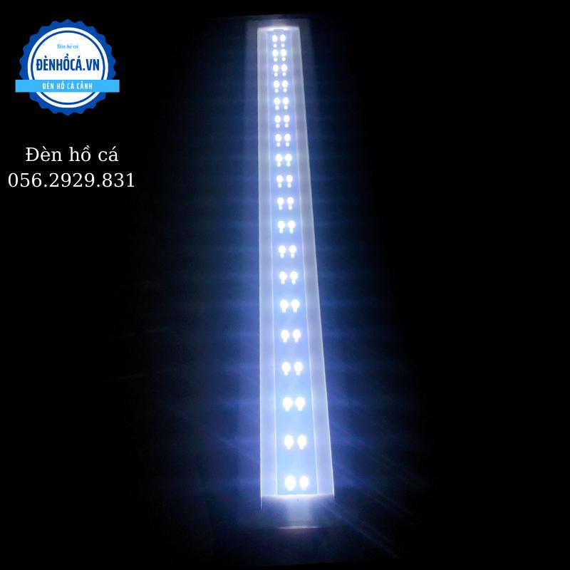 Đèn hồ cá chân INOX gác thành hồ dành cho hồ 52 - 60cm