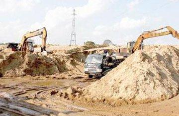 Giá cát xây dựng tại Tp.HCM tăng gấp đôi