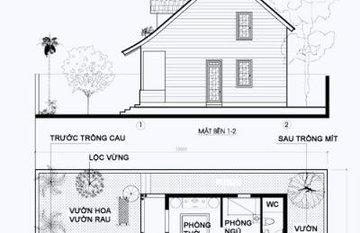 Tư vấn thiết kế nhà vườn 2 tầng ở Hà Nội, chi phí 600 triệu