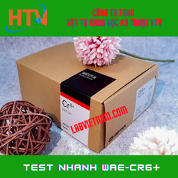 BỘ KIT TEST CROM (VI) WAE-CR6+ 0,05-2MG/L (PPM)- HÃNG WATER IT