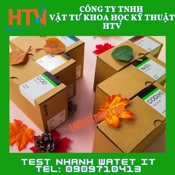 BỘ KIT TEST COD THANG THẤP WAE-COD(D) 0-8mg/L (ppm) -- HÃNG WATER IT