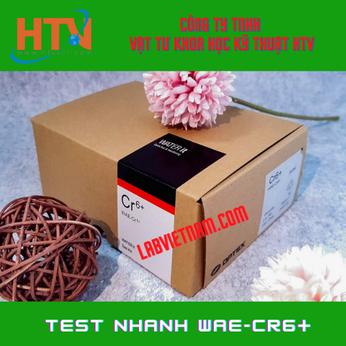 BỘ KIT TEST CROM (VI)WAE-CR6+ 0,05-2MG/L (PPM)- HÃNG WATER IT