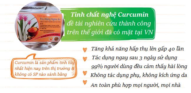 TINH NGHỆ CURCUMIN THƯỢNG HẠNG 300G - chất lượng số 1 VN