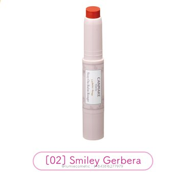 Son dưỡng CANMAKE Stay On Balm Rouge [02] Smiley Gerbera