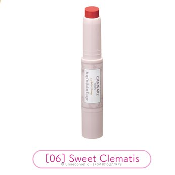 Son dưỡng CANMAKE Stay On Balm Rouge [06] Sweet Clematis