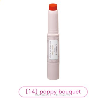 Son dưỡng CANMAKE Stay On Balm Rouge [14] Poppy Bouquet