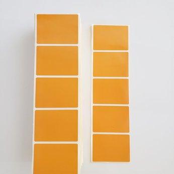 Decal màu cam