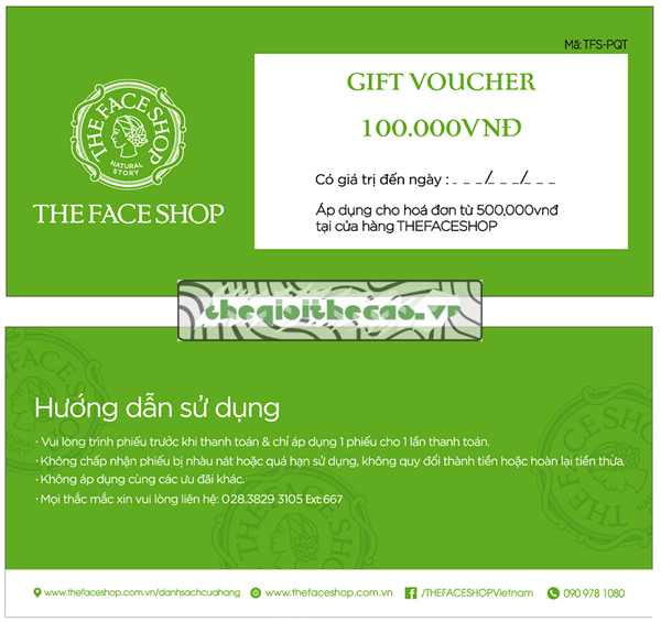 in thẻ voucher