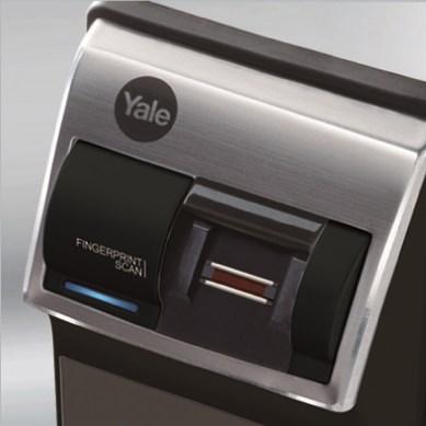 Khóa điện tử YALE YDR4110 - Vân tay, mã số, remote