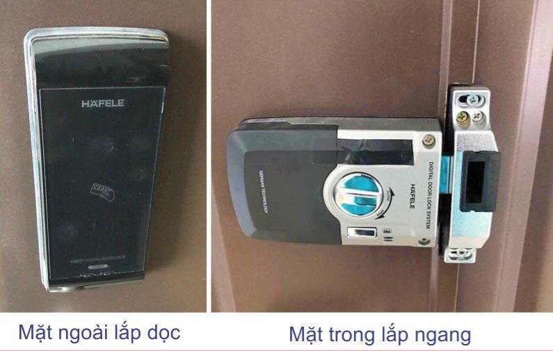 Khóa điện tử cửa kính HAFELE ER4800-TC 912.05.361