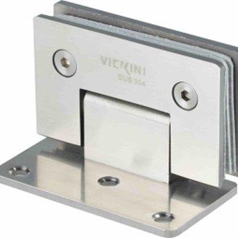 Kẹp kính VICKINI 66048.090 PSS inox bóng